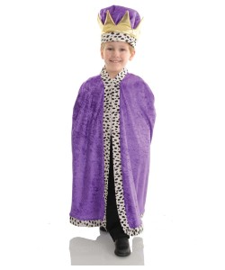 Purple King Costume