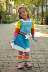 Rainbow Bright Costume Pattern