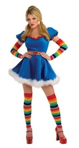 Rainbow Bright Costume for Adults