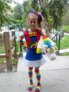 Rainbow Bright Kids Costume