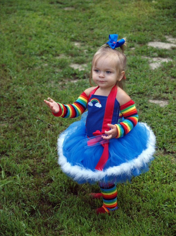 Rainbow Bright Tutu Costume  sc 1 st  Parties Costume : toddler rainbow brite costume  - Germanpascual.Com