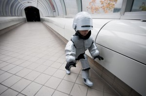 Robocop Costume Child