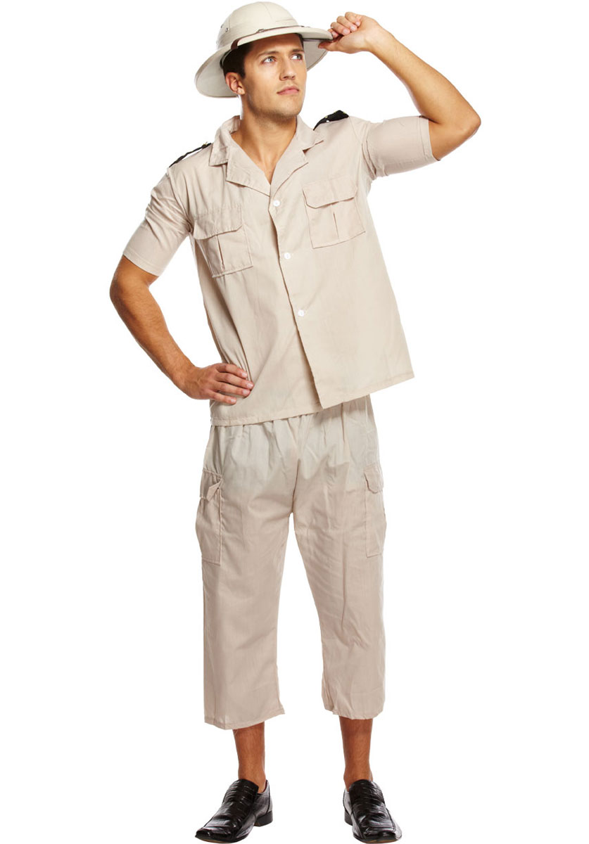 Safari Costumes Men Women Kids Parties Costume