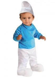 Smurf Baby Costume