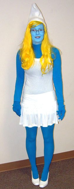 Girl Smurf Costume   Adult Smurfette Costume Sc 1 St Halloween Costumes e6347a6ed