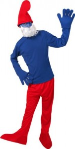 Smurf Halloween Costumes Adults