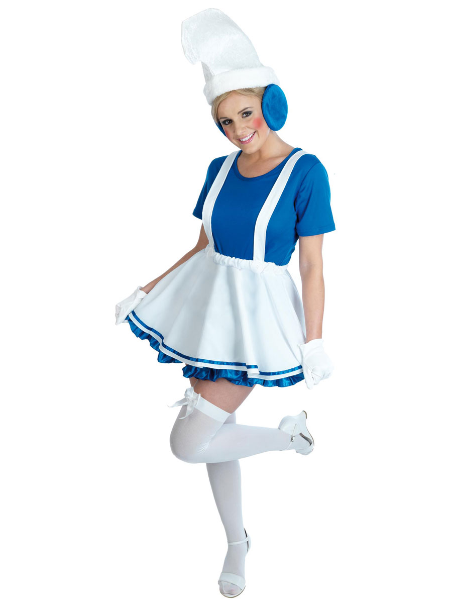 Smurf Costumes (for Men, Women, Kids) | Parties Costume
