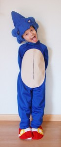 Sonic the Hedgehog Costume Pattern