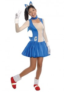 Sonic the Hedgehog Costume Women
