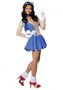 Sonic the Hedgehog Costume for Adults