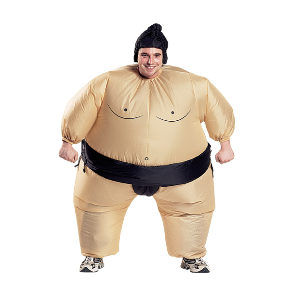 sumo wrestler costumes parties costume. Black Bedroom Furniture Sets. Home Design Ideas