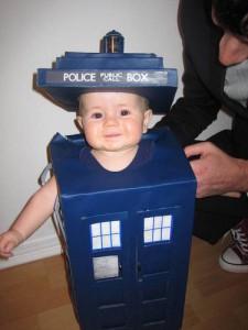 Tardis Costume Baby