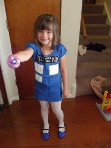 Tardis Costume Child