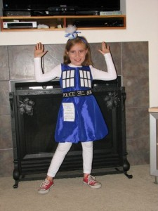 Tardis Costume Kids