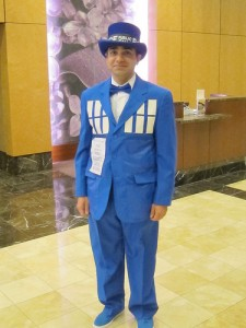 Tardis Costume Male