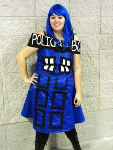 Tardis Costume Women