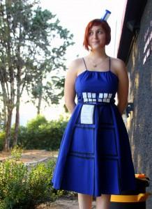 Tardis Dress Costume