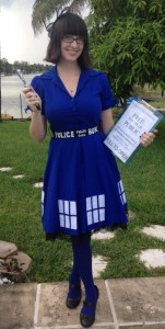 The Tardis Costume