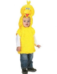 Toddler Big Bird Costume