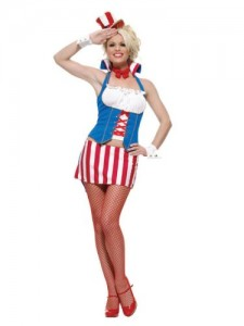 Uncle Sam Costume Female
