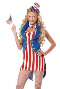 Uncle Sam Costume Women