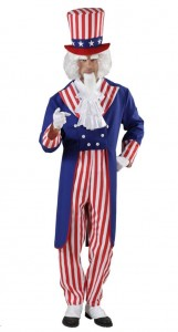 Uncle Sam Costume for Men
