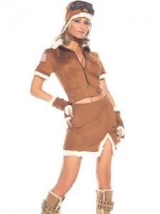 Vintage Pilot Costume