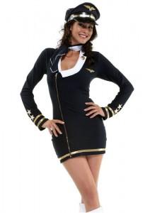 Woman Pilot Costume