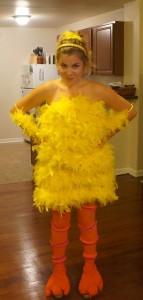 Womens Big Bird Costume
