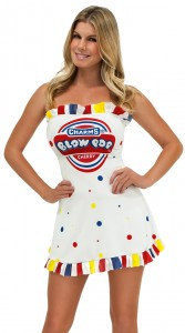 Womens Candy Costume