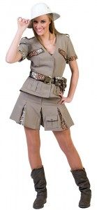 Womens Safari Costume