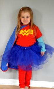 Wonder Woman Costume with Tutu