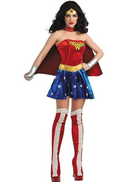 wonder woman costumes parties costume. Black Bedroom Furniture Sets. Home Design Ideas