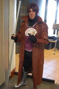X-Men Gambit Costume