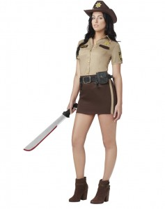 Zombie Hunter Costume Female