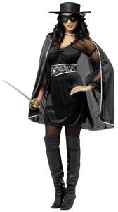 Zorro Costume Women