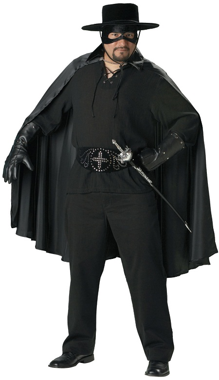 fabulous mask of zorro outfit