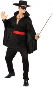 Zorro Costumes for Adults