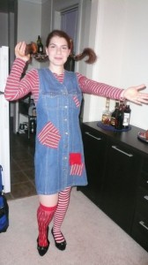 Adult Pippi Longstocking Costume