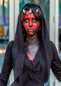 Darth Maul Costume Girl