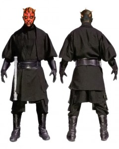 Darth Maul Costume Pattern
