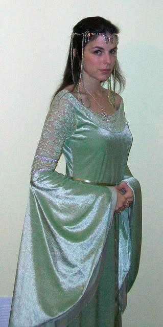 Lord of the rings elf princess costume