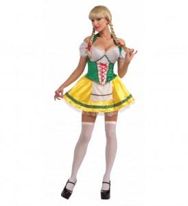 Oktoberfest Woman Costume