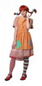 Pippi Longstocking Costume Adult