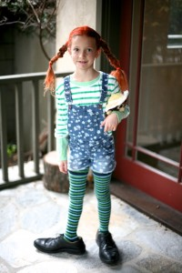 Pippi Longstocking Costume Pattern