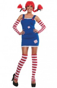 Pippi Longstocking Costume Plus Size