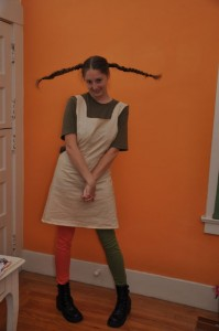 Pippi Longstocking Costume for Adults