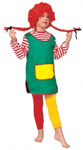 Pippi Longstocking Costume for Kids