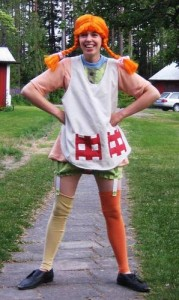 Pippy Longstockings Costume