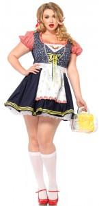 Plus Size Oktoberfest Costumes